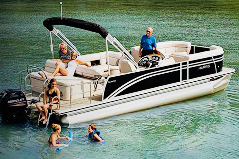 sport pontoon boat rental