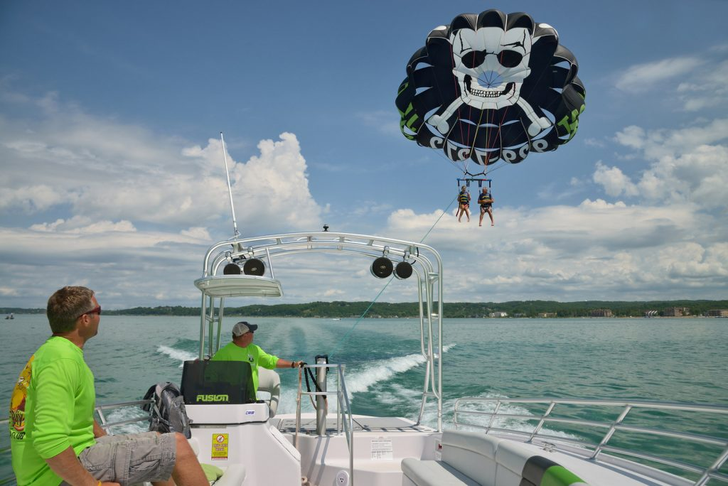 parasailing traverse city