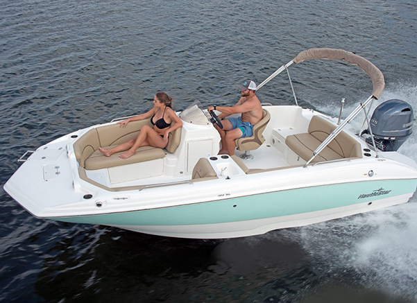 deck boat delivery