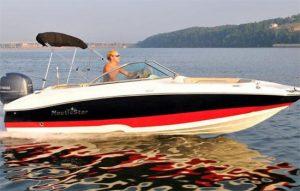 sport deck boat rental